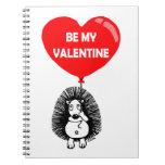 Be my valentine spiral note books
