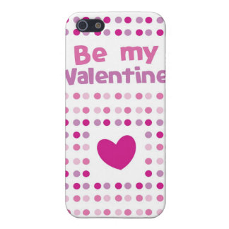 Be my Valentine spotty card products Case For iPhone SE/5/5s
