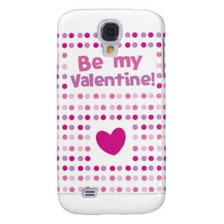 Be my Valentine spotty card products Galaxy S4 Cover