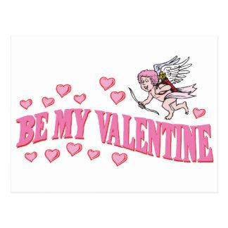 Be My Valentine Stationery Postcard