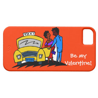 Be my Valentine, taxi! iPhone SE/5/5s Case