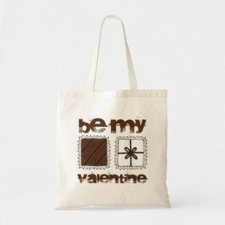 Be My Valentine Valentine's Day Chocolates Tote