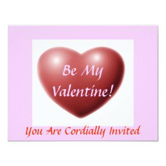 Be My Valentine! -Valentines Day Dinner Invitation