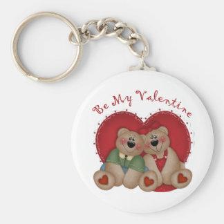 Be My Valentine Valentine's Day Keychain