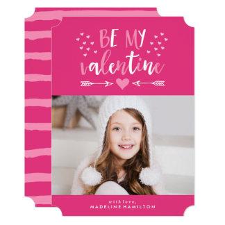 Be My Valentine | Valentine's Day Photo Card