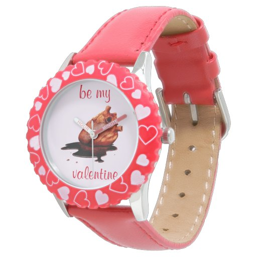 be my valentine wrist watch
