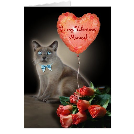 Be my Valentine, (your name) Card