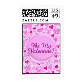 Be My Valnetine? Stamps