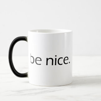 Be Nice 11 Oz Magic Heat Color-Changing Coffee Mug