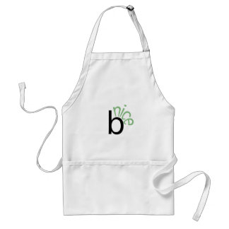 Be Nice (green) Adult Apron
