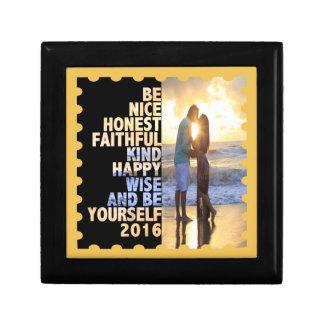 Be Nice Honest Faithful Happy Wise & Be yourself Keepsake Box