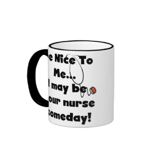 Be Nice Nurse Mug mug