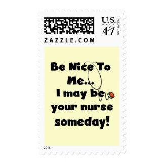 Be Nice Nurse Tshirts and Gifts Postage