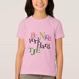 Be Nice Rainbow T-Shirt