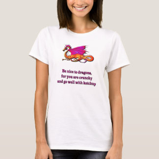 Be Nice To Dragons T-Shirt