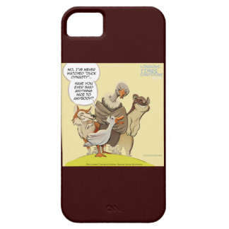 Be Nice To Ducks Funny iPhone 5 Case