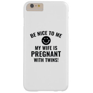 Be Nice To Me Barely There iPhone 6 Plus Case