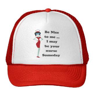Be nice to me mesh hats