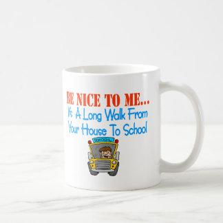 Be nice to me... coffee mug