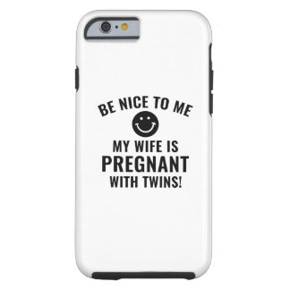 Be Nice To Me Tough iPhone 6 Case