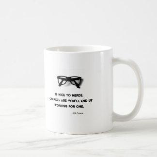 Be Nice to Nerds Mug
