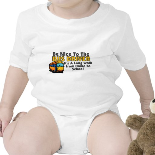 Be Nice To The Bus Driver Bodysuit