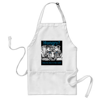 Be nice to the cook! adult apron