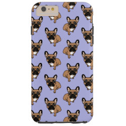 Case-Mate Barely There iPhone 6 Plus Case with Bulldog Phone Cases design