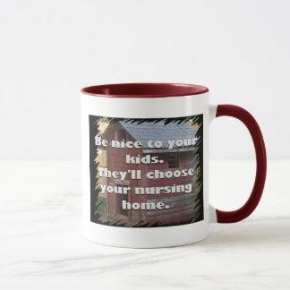 Be Nice To Your Kids Mug