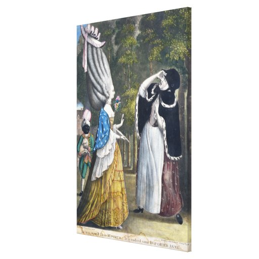 Be not amaz'd Dear Mother - It is indeed your Daug Canvas Prints