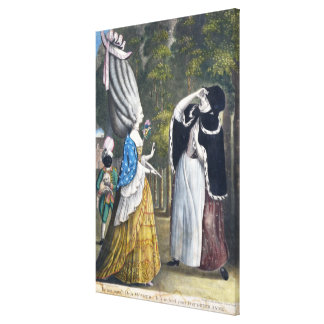 Be not amaz'd Dear Mother - It is indeed your Daug Canvas Print