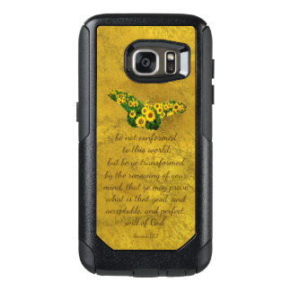 Be Not Conformed Bible Verse OtterBox Samsung Galaxy S7 Case