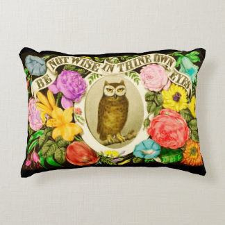 Be Not Wise In Thine Own Eyes Accent Pillow