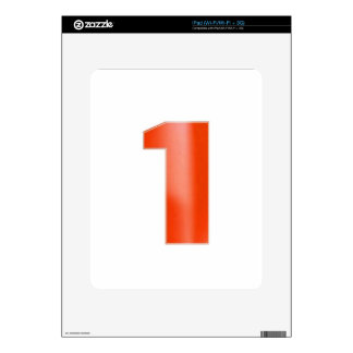 Be NUMBER ONE - Keep right color image association iPad Skins