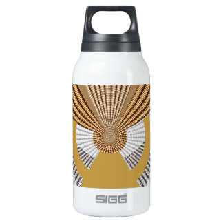 Be on STEERING WHEEL Golden Leadership Drive 10 Oz Insulated SIGG Thermos Water Bottle