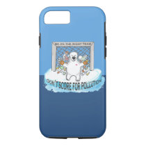 Be on the right team, polar bears iPhone 8/7 case