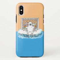 Be on the right team, polar bears iPhone x case