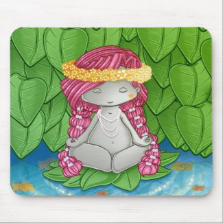 Be one with Nature Blips mousepad