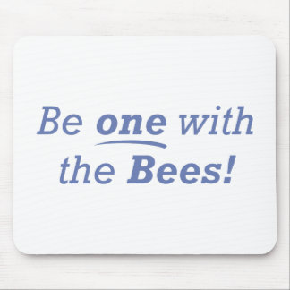 Be one with the bees! mouse pad