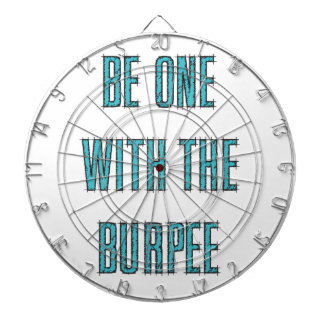 Be One With The Burpee Dart Board