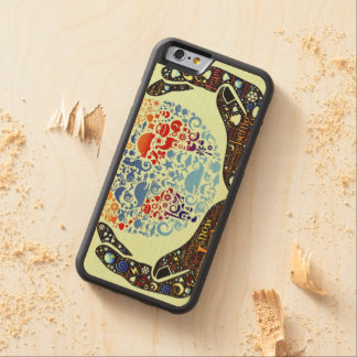 Be One With The Earth Carved Maple iPhone 6 Bumper Case