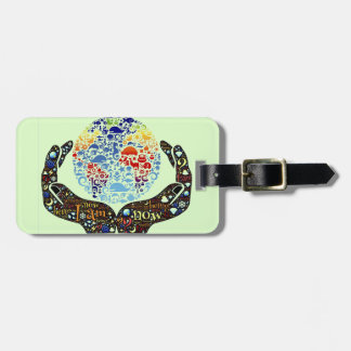 Be One With The Earth Luggage Tags
