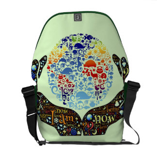 Be One With The Earth Courier Bag