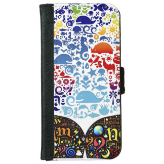 Be One With The Earth iPhone 6 Wallet Case