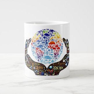 Be One With The Earth Jumbo Mug