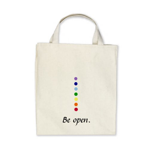 Be Open - Chakra Eco-Friendly Shopping Bag