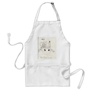 Be open-minded adult apron