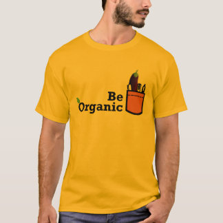 Be Organic Eggplant in the Pocket Shirt