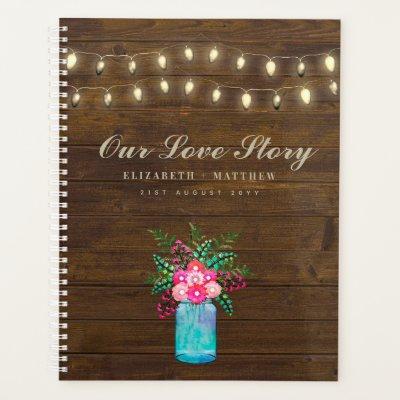 BE ORGANIZED WEDDING PLANNER - Rustic Lights