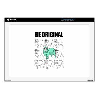 """Be Original 17"""" Laptop Skin"""